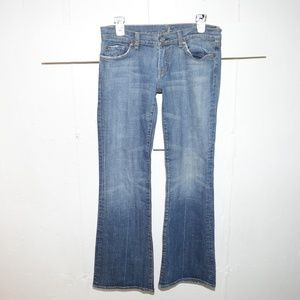 7 For all Mankind womens boot jeans size 29 -2867-